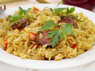 arroz con tropezones | receta de Al Sur Gourmet