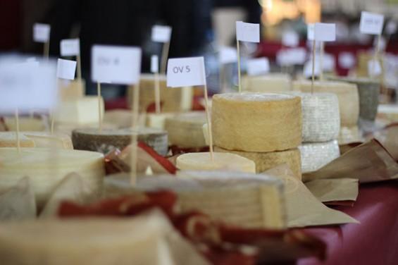 Feria del queso artesanal de Villaluenga del Rosario - Queso Andaluz