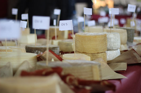 Feria del queso artesanal de Andalucía en Villaluenga del Rosario - Queso Andaluz