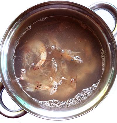 cómo cocer langostinos o gambas | al sur gourmet | cocción
