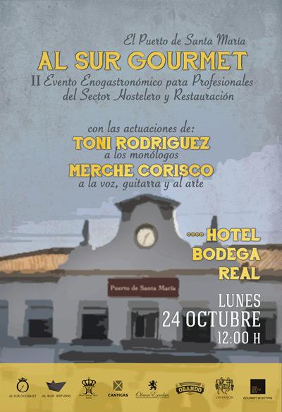 II Evento Enogastronómico de Cádiz Al Sur Gourmet