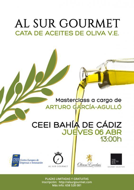 Cata de Aceites de Oliva Virgen Extra en El Puerto Santa María Cádiz